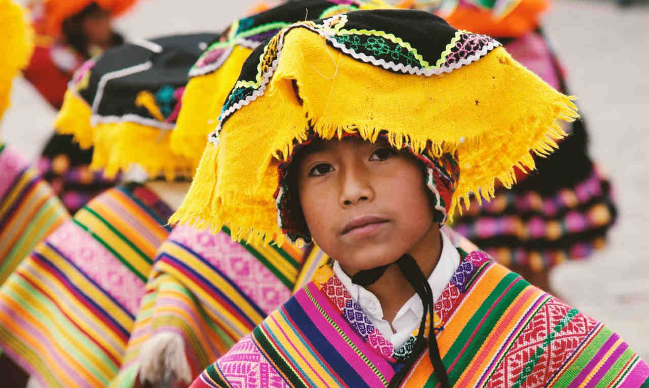 traditionele kleding Peru